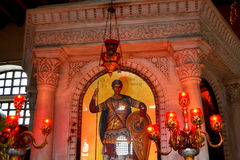 Heilige Demetrius Greece royalty-vrije stock foto