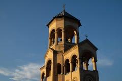 Heilige Dreiheit-Kathedrale von Tbilisi stockfotos