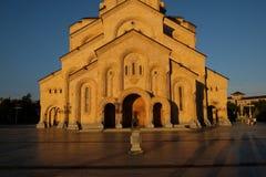 Heilige Dreiheit-Kathedrale von Tbilisi stockfotografie