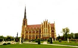 Heilige Dreiheit-katholische Kirche Stockbilder