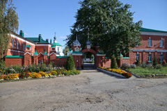 Heilige Dreiheit-Kloster in Ryazan Stockbild