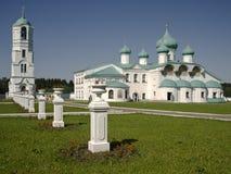 Heilige Dreiheit-Kloster von Alexander Svirsky Stockfotos