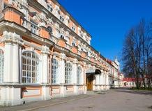 Heilige Drievuldigheid Alexander Nevsky Lavra Metropolitaanse Korpsen, Heilige Petersburg, Rusland stock fotografie