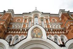 Heilige Drievuldigheid Sergius Maritime Men Monastery royalty-vrije stock afbeelding