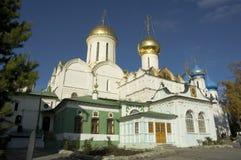 Heilige drievuldigheid-St. Sergius Lavra stock afbeeldingen