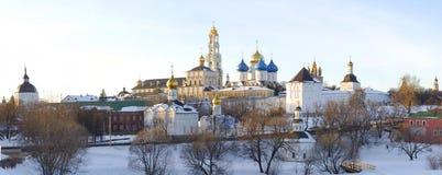 Heilige drievuldigheid-St. Sergius Lavra Royalty-vrije Stock Foto's