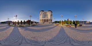 Heilige Drievuldigheids Orthodoxe Kathedraal, Arad, Roemenië Stock Fotografie