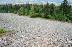 Heilige Dwarsbergen Stock Foto