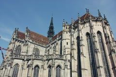 Heilige Elizabeth Cathedral in Kosice, Slowakije Stock Afbeeldingen