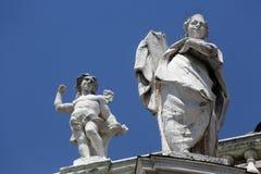 Heilige en Engel Royalty-vrije Stock Fotografie