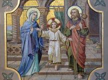 Heilige familie royalty-vrije stock afbeeldingen
