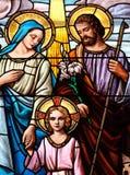 Heilige familie stock afbeelding