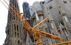 Heilige Familie in Barcelona Stockbild