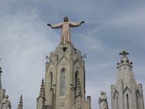 Heilige Familien-Kathedrale von Barcelona lizenzfreies stockbild