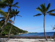 Heilige Felix Beach van Heilige Felix in Guadeloupe stock afbeeldingen
