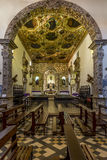 Heilige Francis Convent in Olinda, Pernambuco, Brazilië stock afbeelding