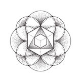 Heilige Geometrie lizenzfreie abbildung