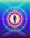 Heilige Geometrie des Menschenlebens Lizenzfreie Stockbilder