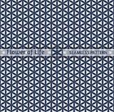 Heilige Geometrie, nahtlose Muster ` Blume von Leben ` Stockfoto