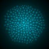 Heilige Geometrie Universum u. Raum Stockfotografie