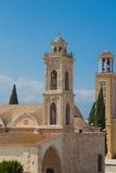 Heilige George Cathedral, Paralimni, Cyprus Stock Afbeelding