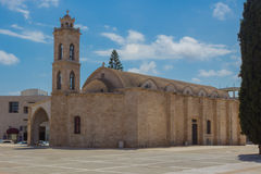 Heilige George Cathedral, Paralimni, Cyprus Stock Foto's