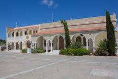 Heilige George Church, Paralimni, Cyprus Stock Afbeelding