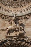Heilige George en de draak Stock Afbeelding
