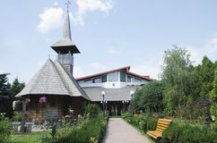 Heilige George Monastery van Giurgiu, Roemenië Royalty-vrije Stock Afbeelding
