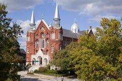 Heilige Hart Culturele Centrum en Kerk in Augusta Georgia Stock Foto