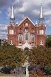 Heilige Hart Culturele Centrum en Kerk in Augusta Georgia Royalty-vrije Stock Afbeelding