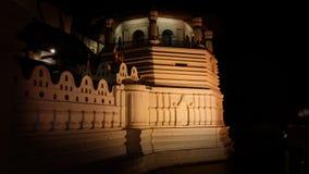 Heilige heilige tempel van tandoverblijfsel Royalty-vrije Stock Fotografie