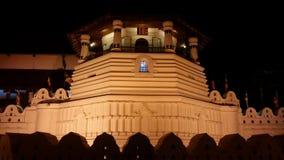 Heilige heilige tempel van tandoverblijfsel Stock Foto