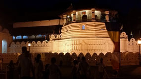 Heilige heilige tempel van tandoverblijfsel Royalty-vrije Stock Foto's