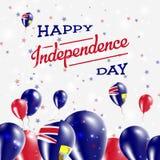 Heilige Helena Independence Day Patriotic Design vector illustratie
