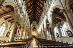 Heilige Herz-Kathedrale in Bendigo, Australien Stockbilder