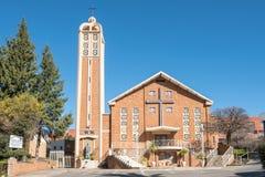 Heilige Herz-Kathedralen-katholische Kirche in Bloemfontein Stockfoto