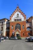 Heilige Herz-Schwesterkirche in Krakau, Polen lizenzfreies stockbild