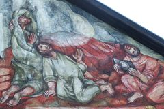Heilige James, Peter und John lizenzfreies stockbild