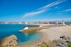 Heilige-Jean-DE-Luz, Aquitaine, Pays Basque, Frankrijk Stock Afbeeldingen