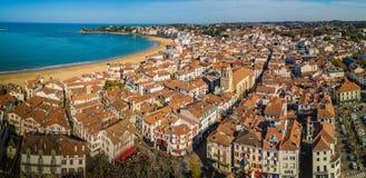Heilige Jean de luz, Frankrijk stock foto