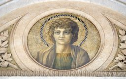Heilige John de Apostel stock afbeeldingen
