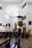 Heilige John de Doopsgezinde kathedraal, Calvi royalty-vrije stock foto