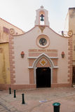 Heilige John de Doopsgezinde kerk, Bonifacio stock foto