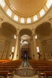 Heilige John de Doopsgezinde kerk, Xewkija Royalty-vrije Stock Fotografie