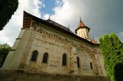 Heilige John het Nieuwe Klooster in Suceava, Roemenië royalty-vrije stock foto