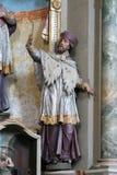 Heilige John van Nepomuk Royalty-vrije Stock Foto's