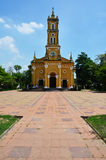 Heilige Joseph Catholic Church, Ayutthaya Thailand Royalty-vrije Stock Fotografie