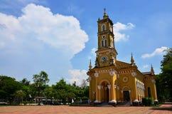 Heilige Joseph Catholic Church, Ayutthaya Thailand Royalty-vrije Stock Foto