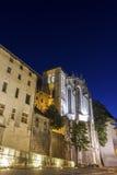 Heilige Kapel van de Hertogen van Savooiekoolkasteel in Chambéry Royalty-vrije Stock Foto